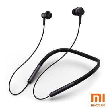 Беспроводные наушники Xiaomi Mi Bluetooth Noise Cancelling Neckband Earphones (Black)