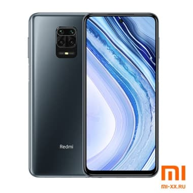 Redmi Note 9 Pro Max (6GB/128GB) Interstellar Black