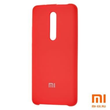 Силиконовый бампер Silicone Case для Xiaomi Mi 9T Pro (Красный)