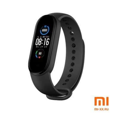 Фитнес-браслет Xiaomi Mi Band 5 (Black)