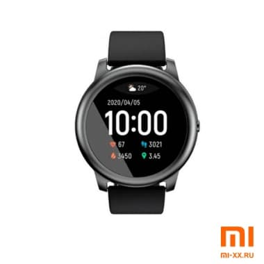 Смарт-часы Xiaomi Haylou Smart Watch Solar LS05 (Black)