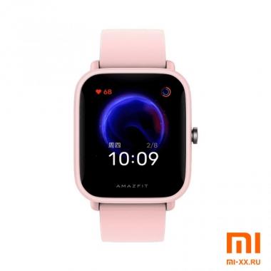 Смарт Часы Huami Amazfit Bip U (Pink)