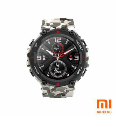 Умные часы Amazfit T-Rex Smart Watch Standart Camo Green