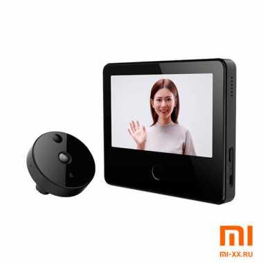 Умный видеоглазок Xiaomi Mijia Smart Cat (Black)