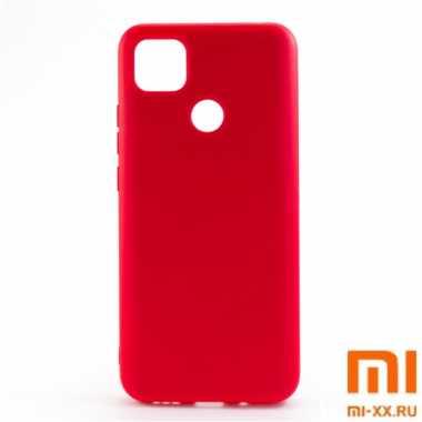 Силиконовый бампер Silicone Case для Xiaomi Redmi 9C (Красный)