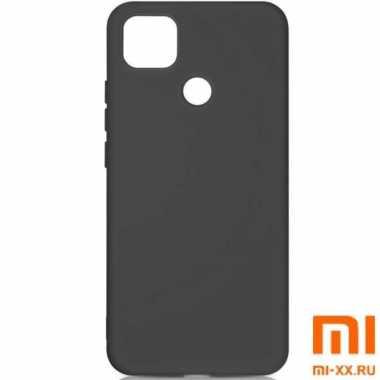 Силиконовый бампер Silicone Case для Xiaomi Redmi 9C (Черный)