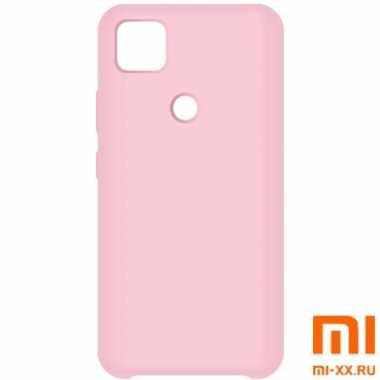 Силиконовый бампер Silicone Case для Xiaomi Redmi 9C (Розовый)