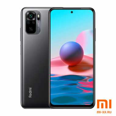 Redmi Note 10 (4Gb/64Gb) Onyx Gray
