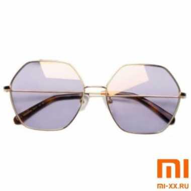 Солнцезащитные Очки TS Sunglasses Six Lines Shape Romb (Gold)