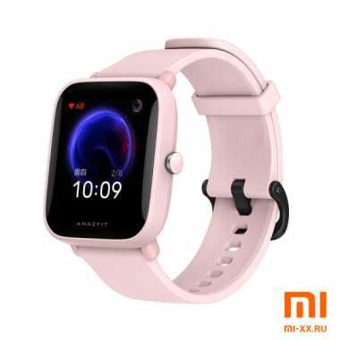 Смарт Часы Huami Amazfit Bip U Pro (Pink)