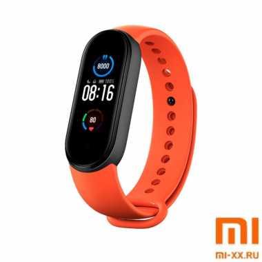 Ремешок Xiaomi Mi Band 5 (Orange)