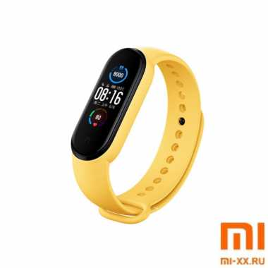 Ремешок Xiaomi Mi Band 5 (Yellow)