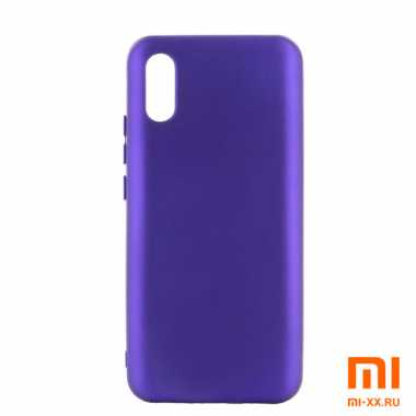 Чехол бампер Silicone Case для Redmi 9A (Purple)