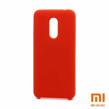 Чехол бампер Silicone Case для Redmi 5 (Red)