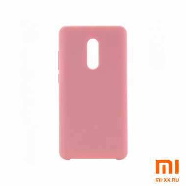 Чехол бампер Silicone Case для Redmi 5 (Pink)