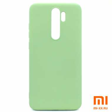 Чехол бампер Silicone Case для Xiaomi Redmi Note 8 Pro (Green)