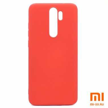 Чехол бампер Silicone Case для Xiaomi Redmi Note 8 Pro (Red)