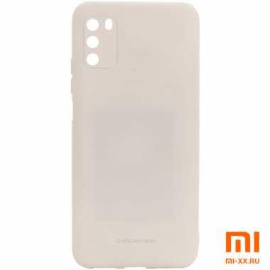 Чехол бампер силиконовый для Xiaomi POCO M3 (Grey)