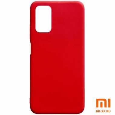 Чехол бампер Silicone Case для Xiaomi POCO M3 (Red)