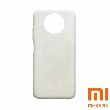 Чехол бампер Silicone Case для Redmi Note 9T (White)