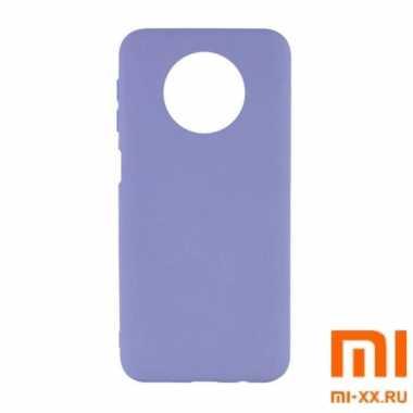 Чехол бампер Silicone Case для Redmi Note 9T (Lilac)