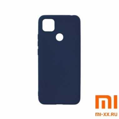 Чехол бампер Borasco для Redmi 9C (Blue)
