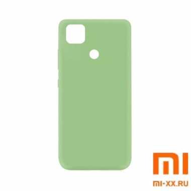 Чехол бампер Silicone Case для Redmi 9C (Light Green)