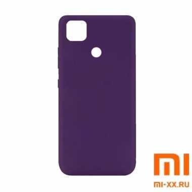 Чехол бампер Silicone Case для Redmi 9C (Purple)