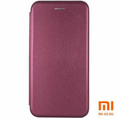 Чехол книжка для Redmi Note 9S/ Redmi Note 9 Pro (Burgundy)