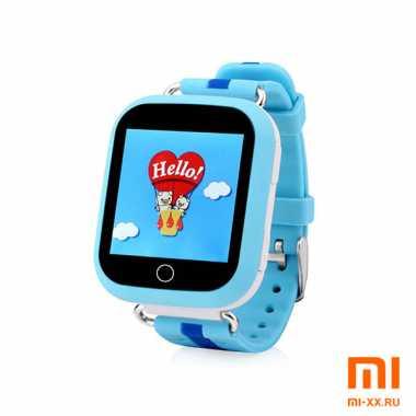 Детские смарт часы Smart Baby Watch Q100 GW200S (Light Blue)
