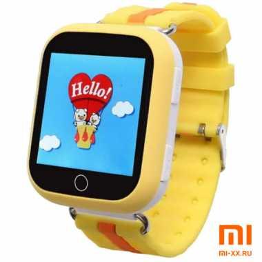 Детские смарт часы Smart Baby Watch Q100 GW200S (Orange)