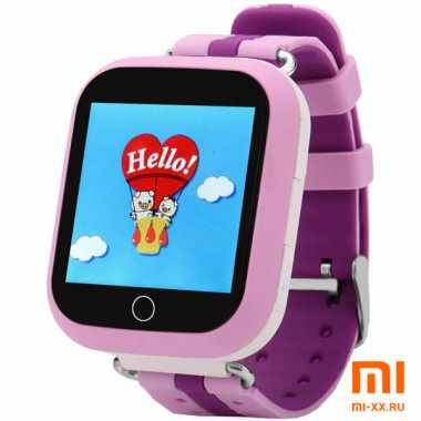 Детские смарт часы Smart Baby Watch Q100 GW200S (Pink)