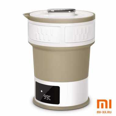 Складной чайник Life Element Electrical Water Kettle I63 (Brown)
