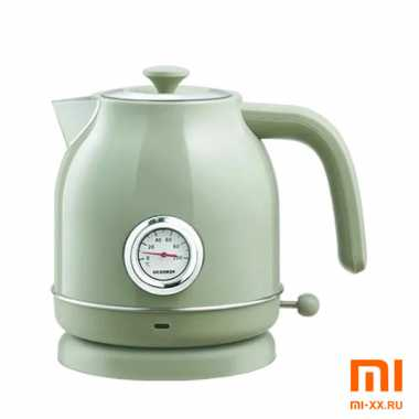 Чайник Qcooker Electric Kettle с датчиком температуры (Green)