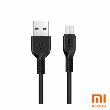 Кабель HOCO X20 Micro-USB 1м (Black)