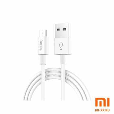 Кабель HOCO X23 Micro-USB 1м (White)