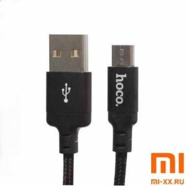 Кабель HOCO X14 Micro-USB 1м (Black)