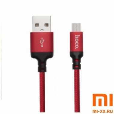 Кабель HOCO X14 Micro-USB 2м (Red)