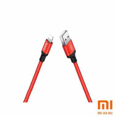 Кабель HOCO X14 Lightning 2м (Red)