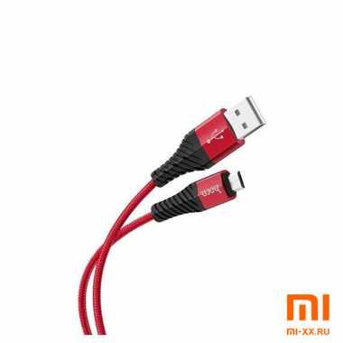 Кабель HOCO X38 Micro-USB 1м (Red)