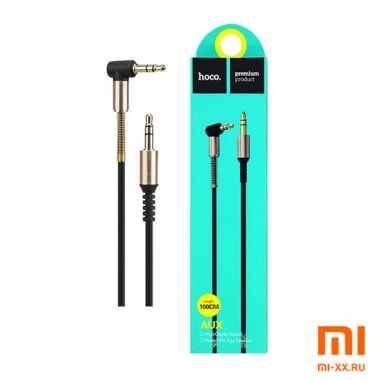 Аудио кабель AUX HOCO UPA11 1м (Black)