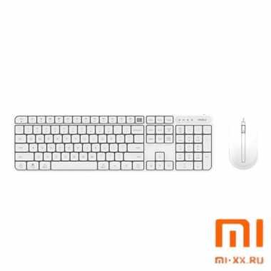 Клавиатура и мышь Xiaomi MIIIW Wireless Set (White)