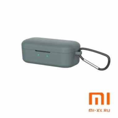 Силиконовый чехол для наушников Xiaomi QCY T5 (Khaki)