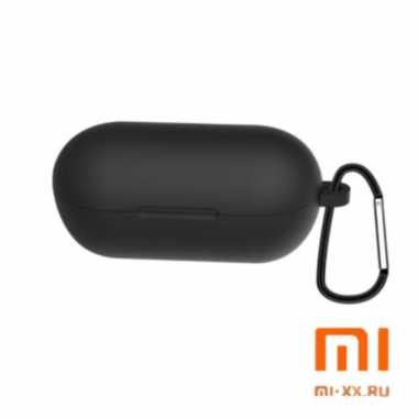 Силиконовый чехол для наушников Xiaomi Haylou GT1 (Black)