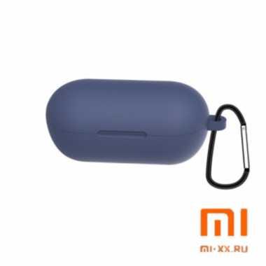 Силиконовый чехол для наушников Xiaomi Haylou GT1 (Dark Blue)