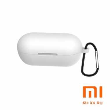 Силиконовый чехол для наушников Xiaomi Haylou GT1 (White)