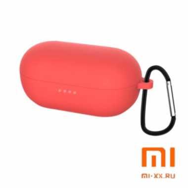 Силиконовый чехол для наушников Xiaomi Haylou GT1 Pro (Red)