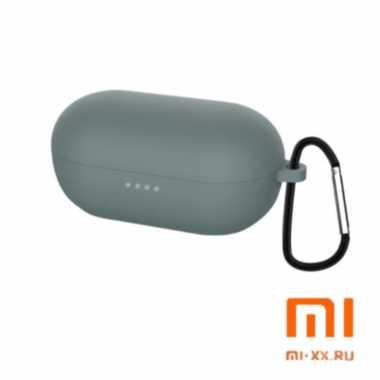 Силиконовый чехол для наушников Xiaomi Haylou GT1 Pro (Gray)