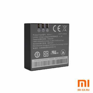 Аккумулятор AZ16-2 для экшн-камер Yi 4K; 4K Plus (Black)