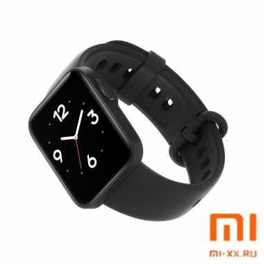 Умные часы Xiaomi Mi Watch Lite (Black)